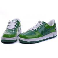 Quality Bape Classic Shoes - Green for sale