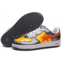 Quality Bape Cartoon shoes black / yellow / red for sale