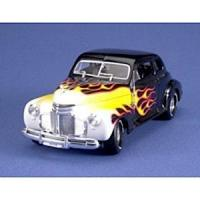Quality tes460034 - 1/24 1941 Chevy (Black w/Flames) (Metal Kit) for sale