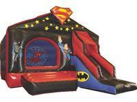 Buy cheap super hero inflatable slides[IG-089] from wholesalers