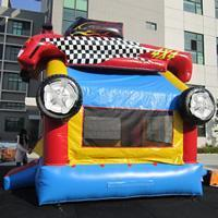 Quality Red Car Inflatable Bouncer for sale