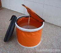 Buy cheap Orange Foldable Water Bucket from wholesalers