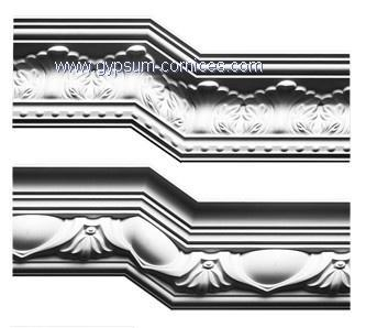 Buy Gypsum/Plaster cornice mouldings at wholesale prices