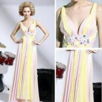 Quality The new elegant long evening dress gown section variegated for sale