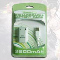Quality Rechargeable Battery Pack 3600MAH for XBOX360 for sale