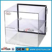 China Custom clear acrylic bakery display counter/cabinet/case on sale