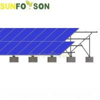 Easy Install Golf Solar Ground Mounting System For Solar Energy