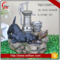 Quality Animal Statues Wholesale indoor slate water fountains for tabletop decor for sale
