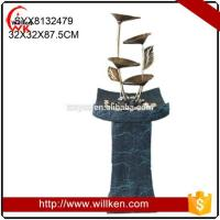 Quality Animal Statues Tabletop deco resin water fountains for decorative for sale