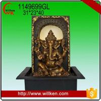 Quality Animal Statues Indoor tabletop decorative hindu gods ganesha water fountain for sale