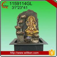 Quality Animal Statues Room decorative indoor hindu god design feng shui water fountain for sale