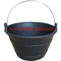 Quality rubber bucket 1017A for sale