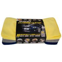 Quality SQUEEGEES AND DUSTERS 3-54118 Pk. Microfiber Cleaning Cloths for sale