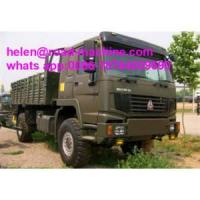Quality All Wheel Drive Vehicle Howo 4x4 Cargo Truck for sale