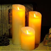 Quality 10CM Diameter Flameless Wax Candles for sale