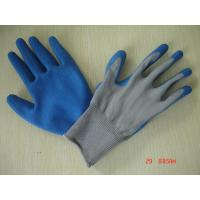 Quality latex coated glove L3501 for sale