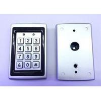Quality Vandal proof 12 key wall mounting door access control metal keypad with Weigand 26 for sale