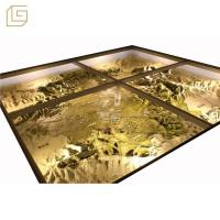 Quality The model of simulate topographic map for sale