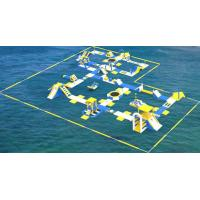 Buy cheap TUV Certification Giant Inflatable Floating Water Park For Sea / Aqua Park Supplier from wholesalers