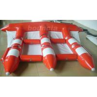 China 3.9m Width Red Color Inflatable Towable Fly Fish For Commercial Use on sale