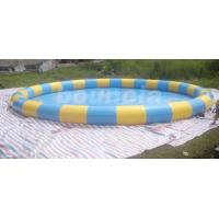 Buy cheap Outdoor Round Inflatabel Water Pool For Paddle / Bumper Boat Use from wholesalers