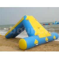 Buy cheap 0.9mmPVCTarpaulinInflatableWaterSlide For Seaside Use from wholesalers