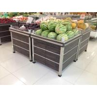 Quality Vegetables and fruits platform-32-Steel and wood combination for sale
