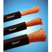 Quality Copper Wire Rubber Insulated black natureal rubber flexible welding cable for sale