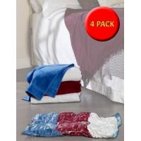 4 Large Vacuum or Roll Storage Bags - Clear - 95x60cm Product Code ARUSS02602