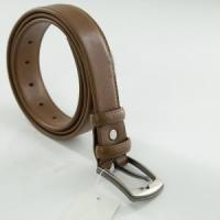 China Custom Waist Belt Men's Reversible Leather Belt For Jeans Brown on sale