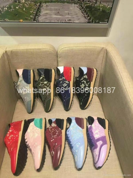 Buy Wholesale newest Sneaker High Quality Original Valentino genuine leather shoes at wholesale prices
