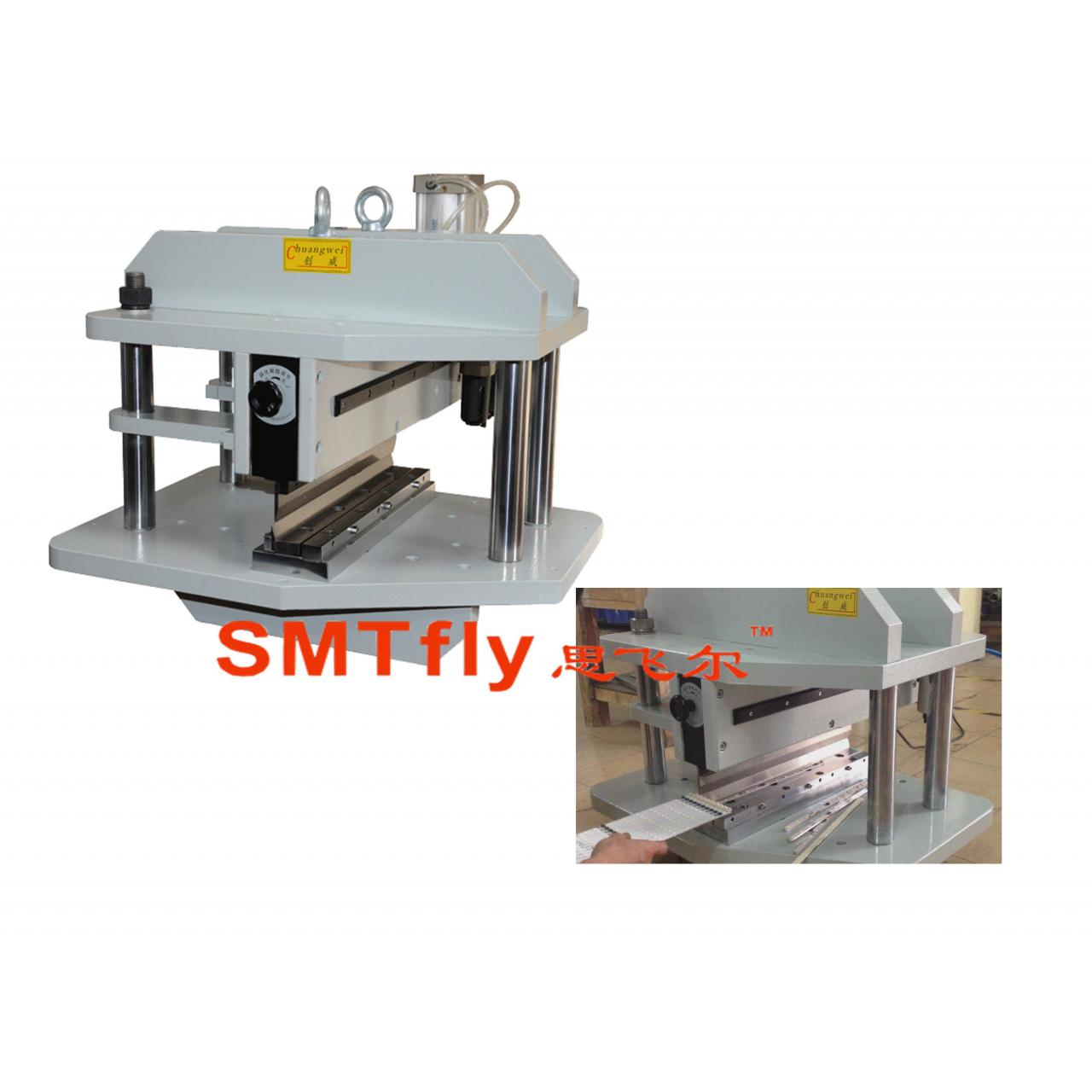 Quality FPC depaneling guillotine pcb depanelizer,SMTfly-450C for sale