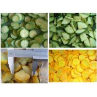 Buy cheap Frozen vegetables Frozen Zucchini slices from wholesalers