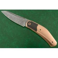 Draupner Interframe Front Flipper with Copper and Damascus - #11