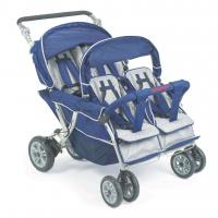 Buy Bye Bye Stroller - 4 Seat (Incl. FREE Raincover), Quad Buggy, Pram for Four Babies at wholesale prices
