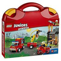 Buy LEGO Juniors Fire Patrol Suitcase 10740 Toy for 4-7-Year-Olds at wholesale prices