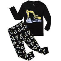 Buy cheap IF Pajamas Boys Truck Bulldozer Little Kids Pjs Sets 100% Cotton Toddler Sleepwears from wholesalers