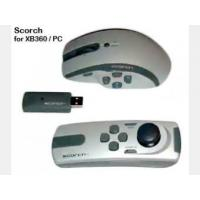 Wireless PC and xBox 360 gaming mouse and nunchuk game pad, 6-axis, 2000 dpi (Scorch)
