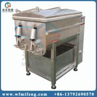 China Meat processing machine Vacuum meat mixer machine on sale