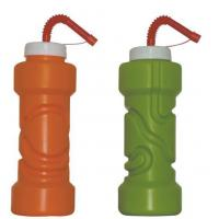 Cool Gear EZ Freeze Water Bottle / Handle Straw and Ice Pack