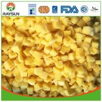 China Individual Quick Freezing IQF Mango Cubes Dices and Pieces on sale