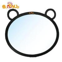Rear view mirror for rearward facing child seat