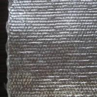 Quality Bulked fiberglass woven fabric coated with aluminum foil for sale
