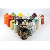 Buy cheap Ceramic jar candles with beautiful decals from wholesalers