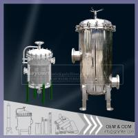 Stainless Steel Cartridge Filter Housing for Water Treatment System