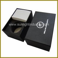 Buy cheap black gift box with foam insert from wholesalers