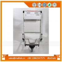 China Smart Portable Hotel Airport Baggage Luggage Trolley Cart For Heavy Duty Suitcase on sale
