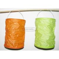 Buy cheap Spring Lampion Paper Lanterns Craft , Outdoor Hanging Paper Candle Lanterns 10 X 15 Cm from wholesalers
