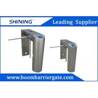 Quality Uni-Direction / Bi-Direction Electrical Tripod Turnstile Gate With Card Reader for sale
