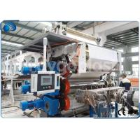 Quality Single Screw Plastic Sheet Extrusion Machine Manufacturing Equipment High Capacity for sale